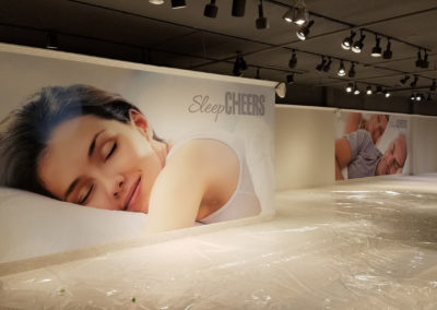 Cheers Showroom Wall Graphics