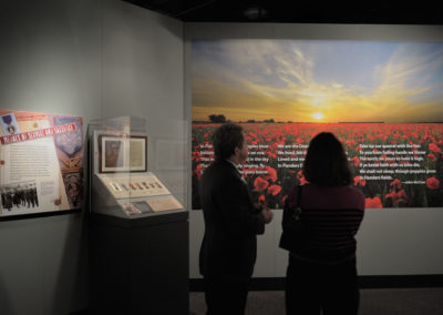 WWI Exhibit opening reception at the NC Museum of HIstory, April 7, 2017