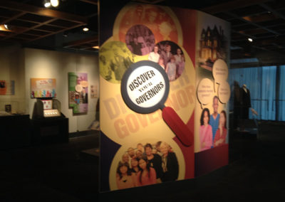 NC Museum History Wallpaper and dimensional signage_2